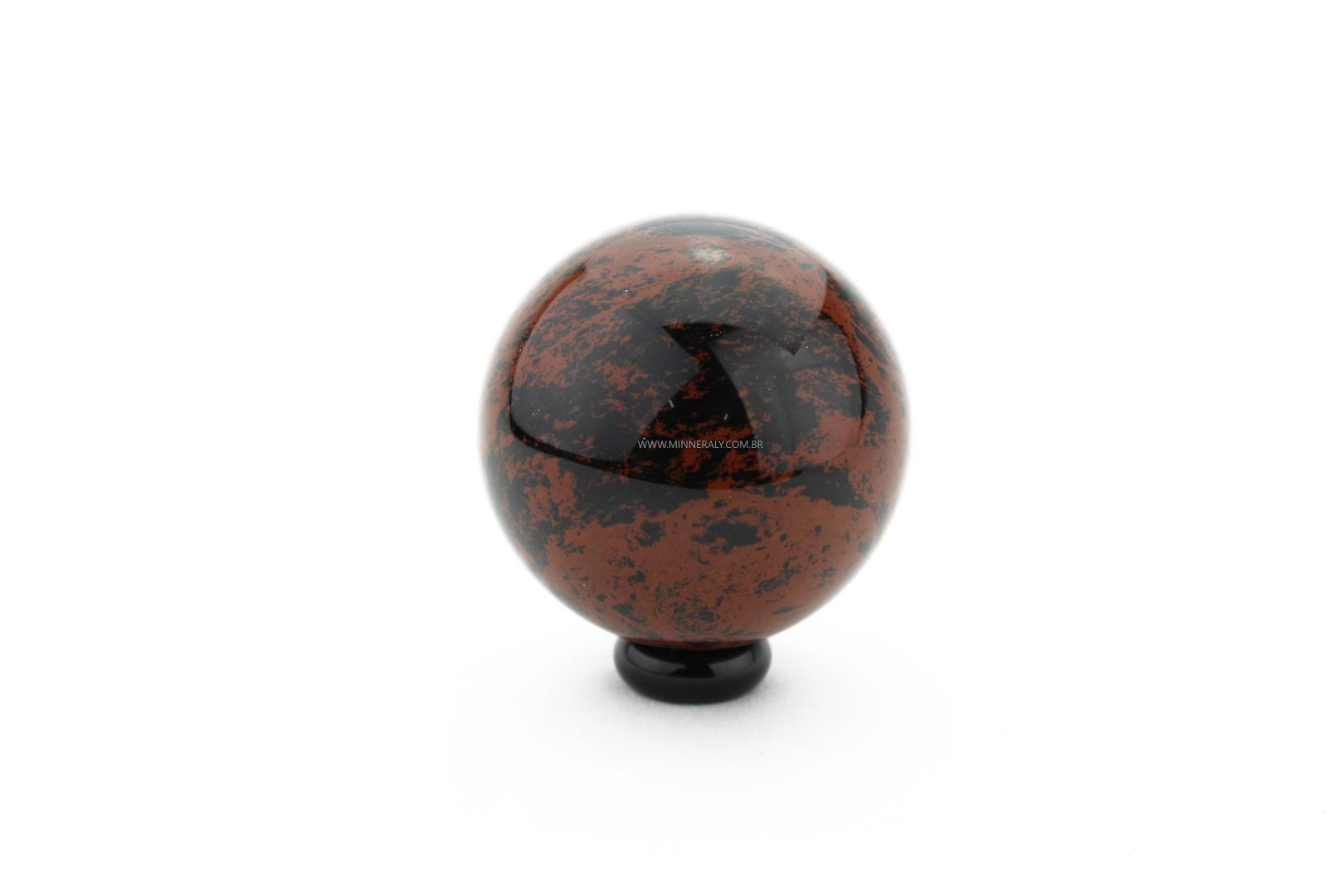 Esfera de Obsidiana Marrom in Natura #NN103