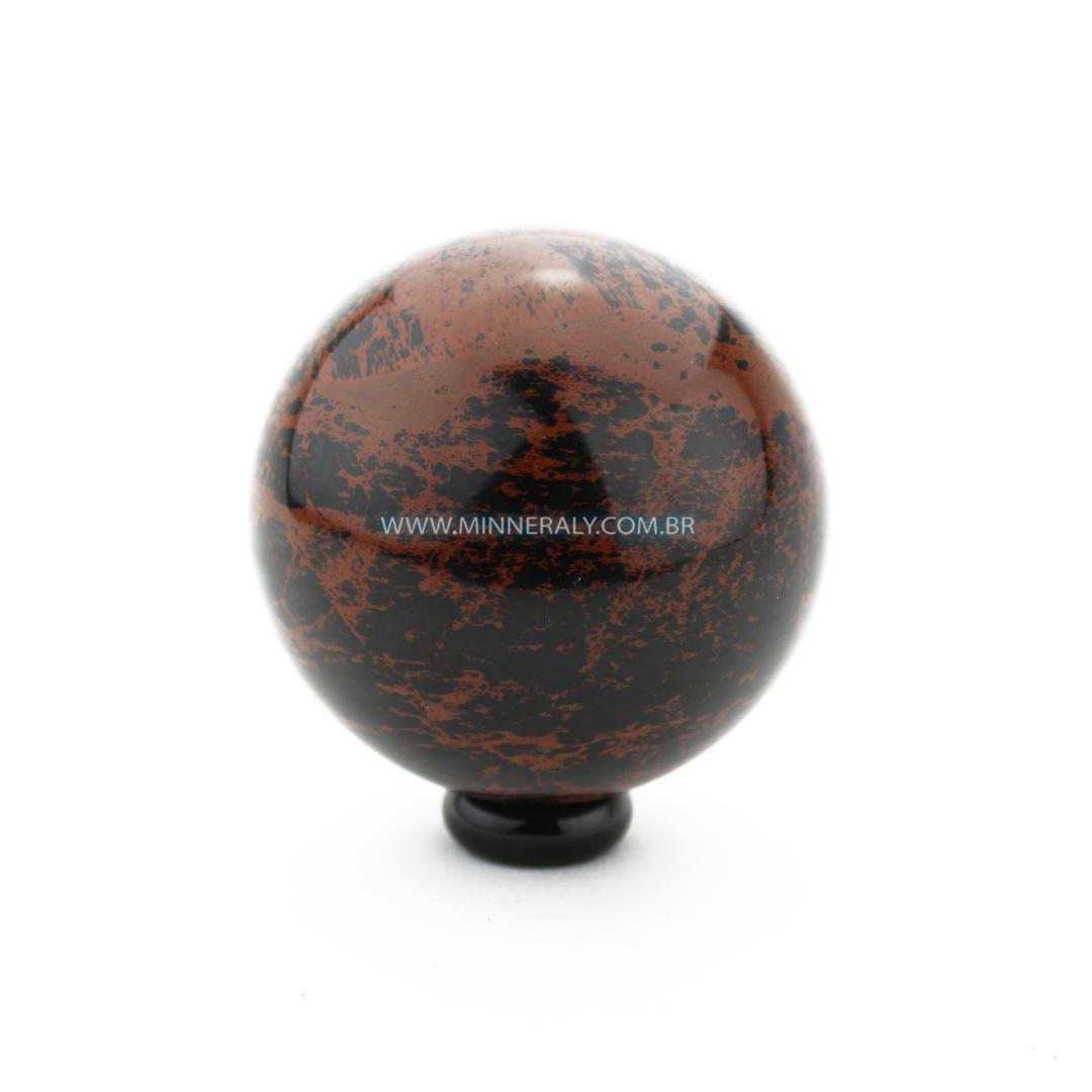 Esfera de Obsidiana Marrom in Natura #NN104