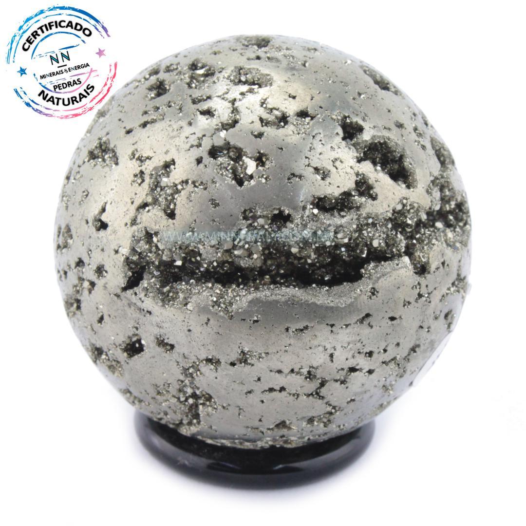 Esfera de Pirita IN Natura (0,348KG; Diam: 6,0CM)