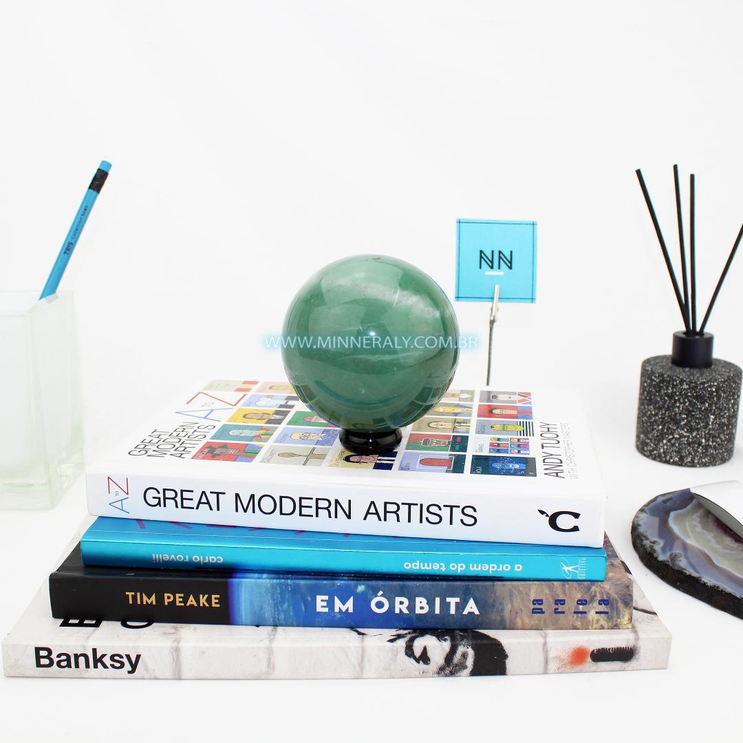 Esfera de Quartzo Verde #NN103