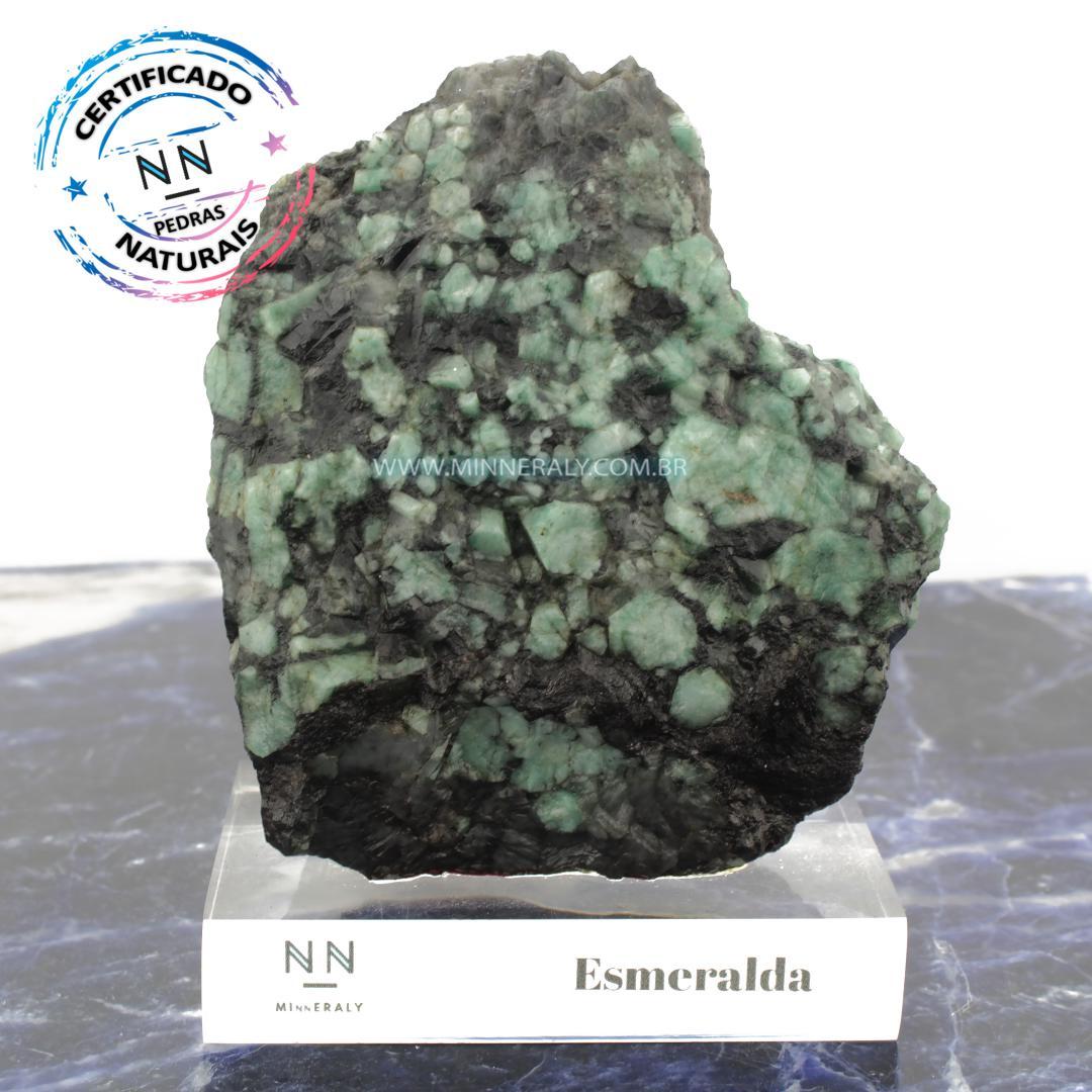 Esmeralda IN Natura Clear.collection (1,045KG; ALT: 15,0CM; COMP: 7,5CM; LARG: 11,0CM)