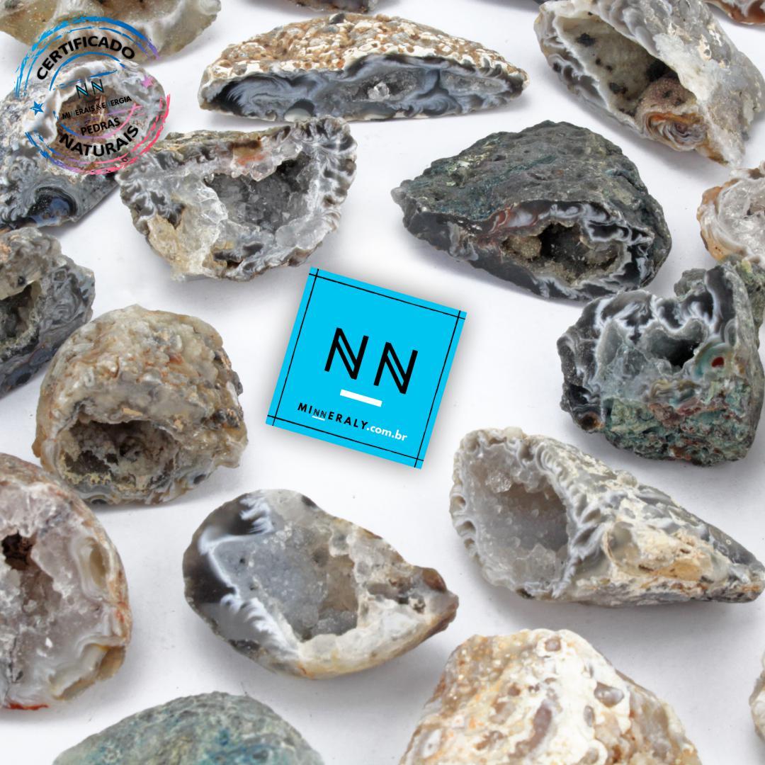 Geodo de AGATA IN Natura BRUTA/PECA