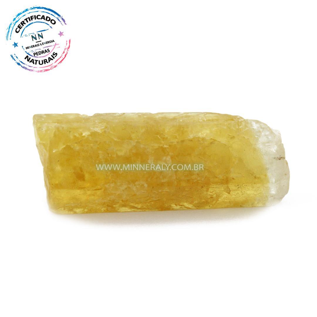 Heliodoro (berilo Dourado) IN Natura em Bruta (0,034KG; ALT: 2,3CM; COMP: 5,6CM; LARG: 1,6CM)