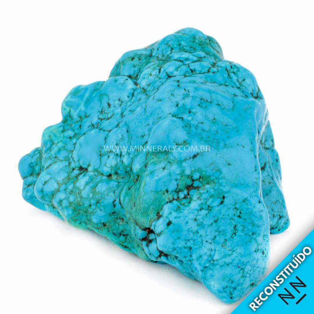 Howlita Azul Reconstituída (1,392kg; 9,5cm) #NN123