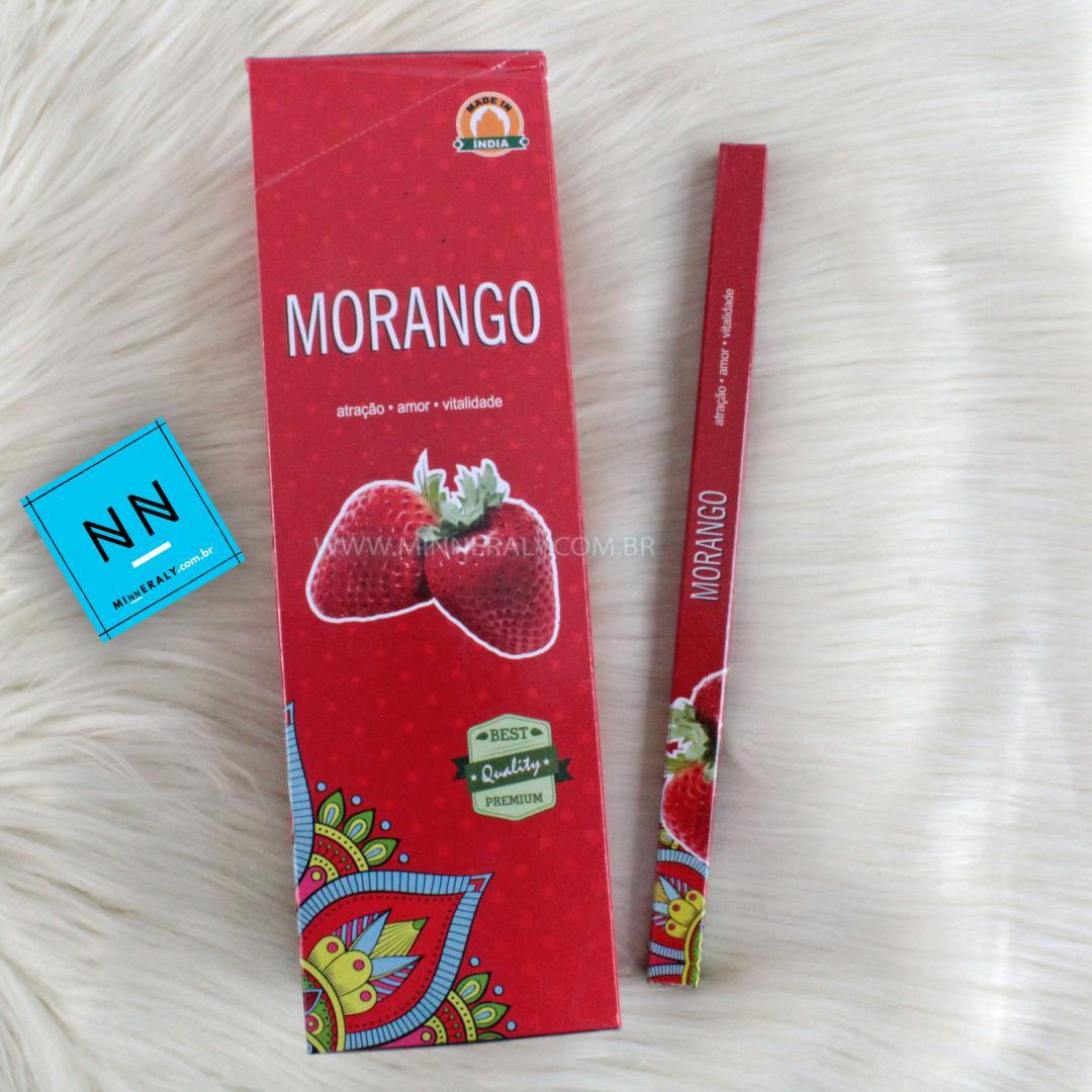 Incenso Morango (atração, AMOR, Vitalidade)