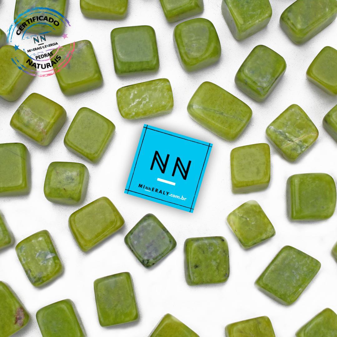 Jade Africano (BUDD Stone) IN Natura ROLADA/PECA