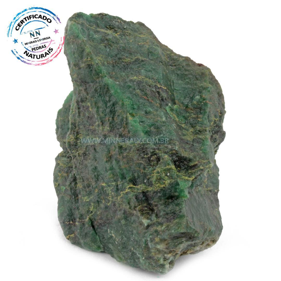 Jadeita IN Natura em Bruto (0,378KG; ALT: 7,7CM; COMP: 8,4CM; LARG: 5,8CM)