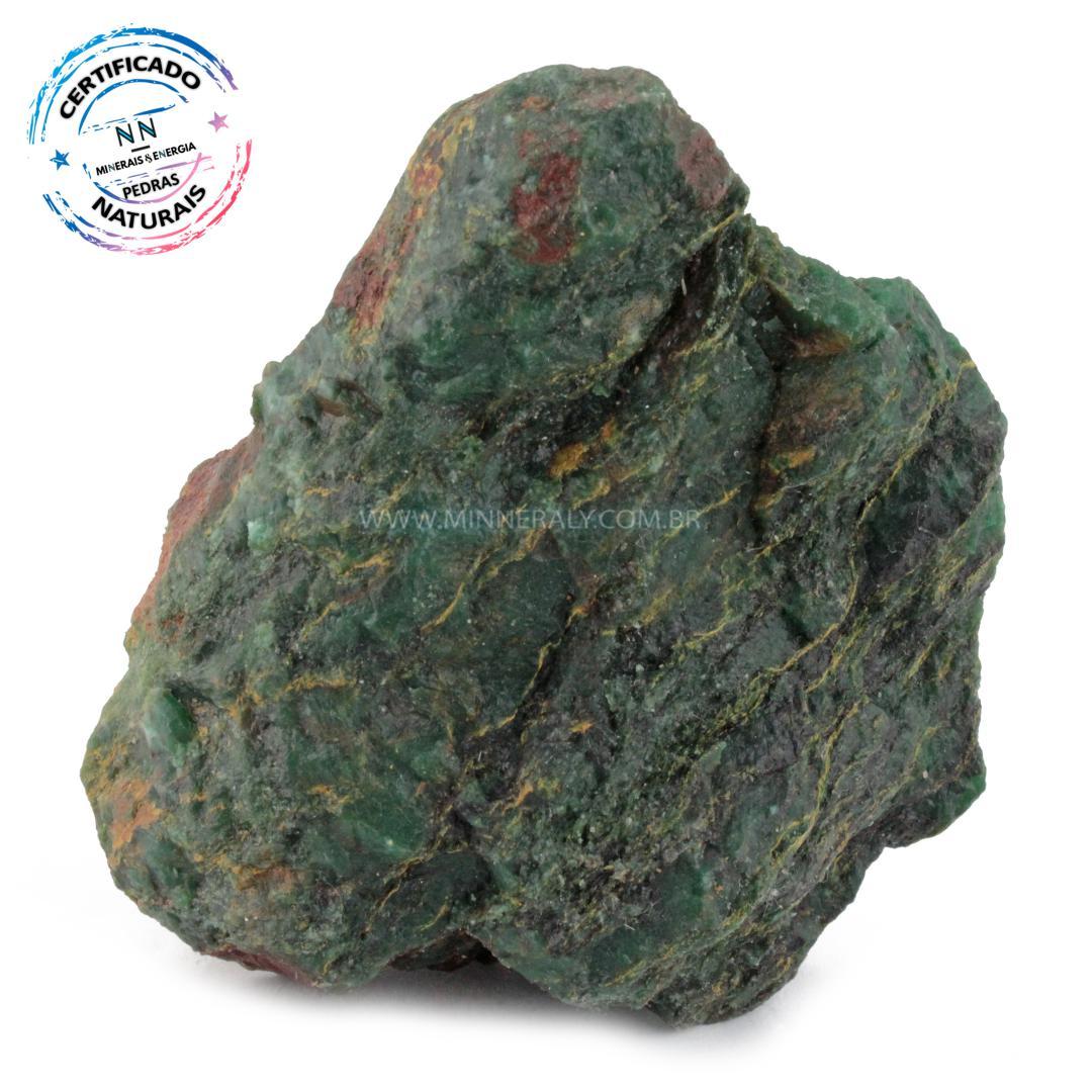 Jadeita IN Natura em Bruto (0,466KG; ALT: 5,1CM; COMP: 10,1CM; LARG: 8,1CM)