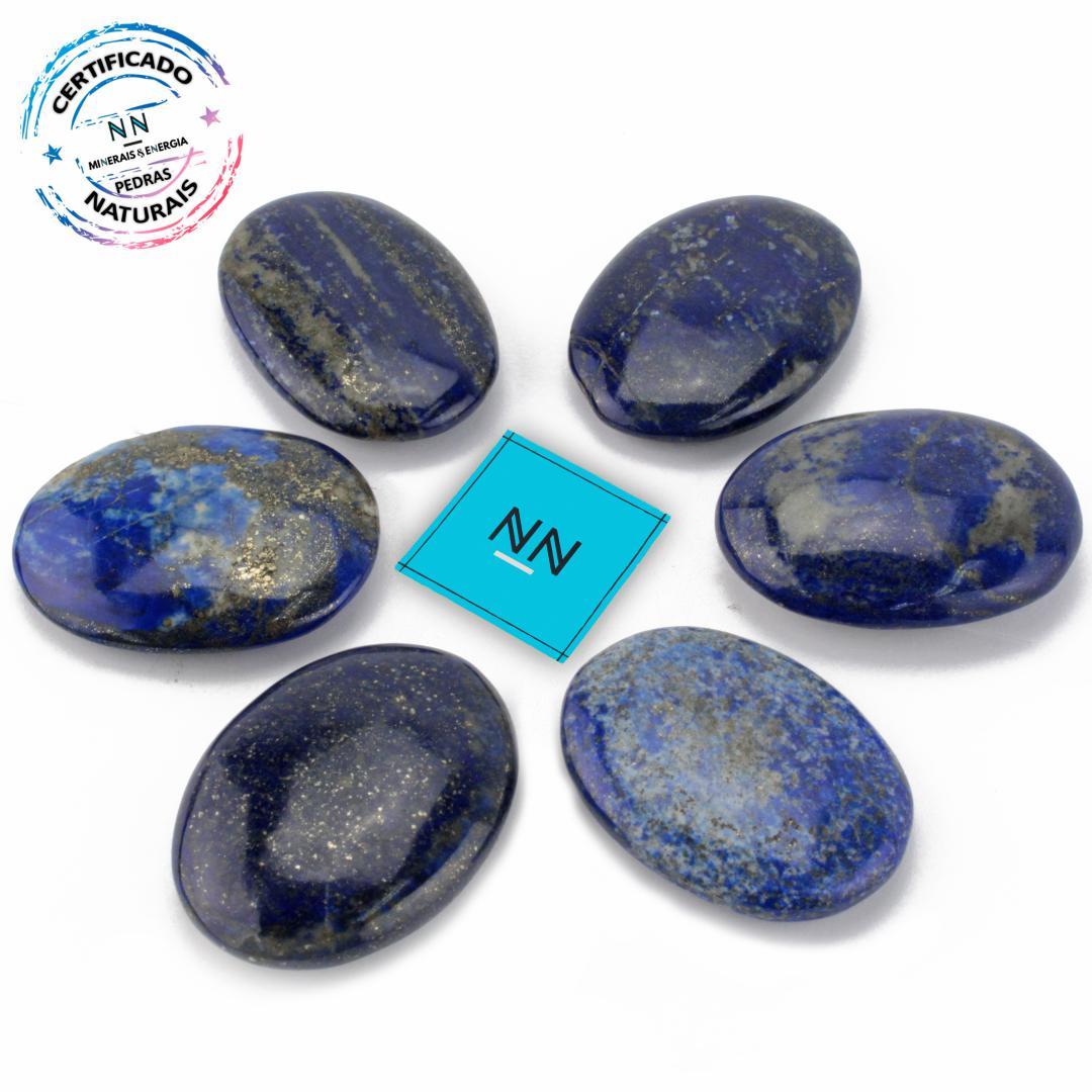 LAPIS-LAZULI PALM Stone (massageador) IN Natura