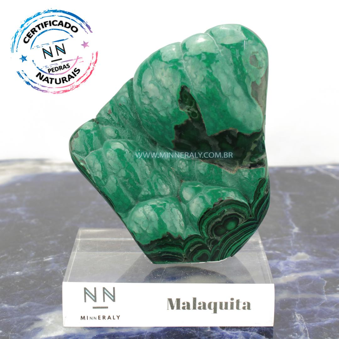 Malaquita in Natura Clear.Collection #NN101