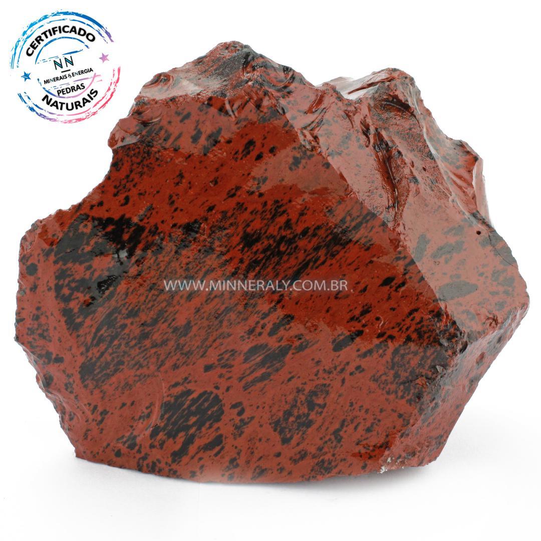Obsidiana Marrom in Natura em Bruto #NN381