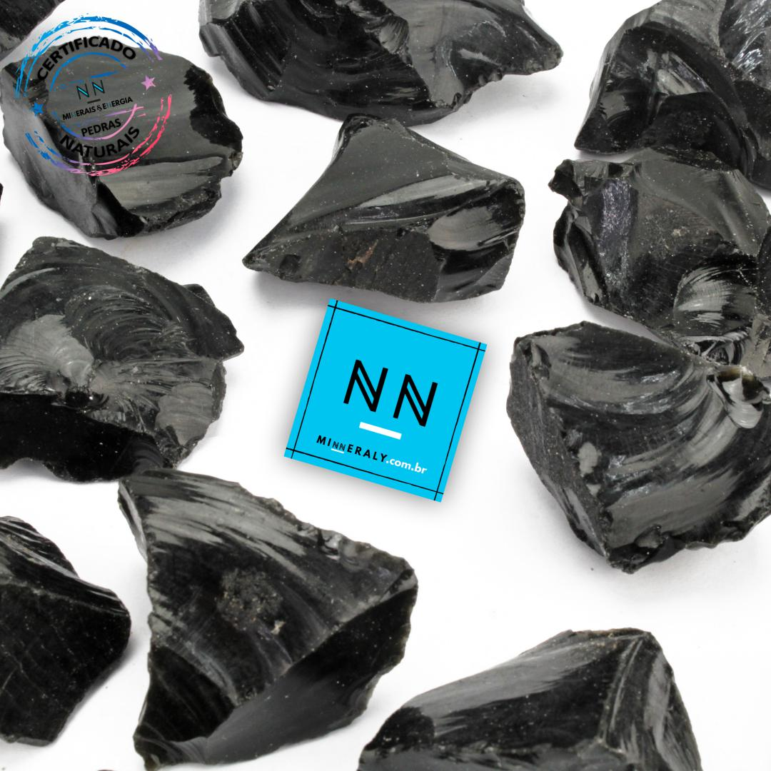 Obsidiana Negra (preta) IN Natura BRUTA/PEÇA