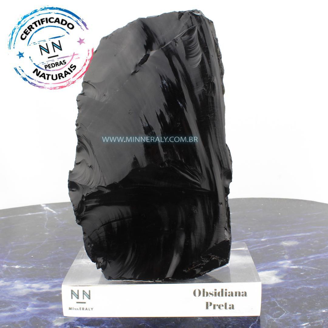 Obsidiana Preta in Natura Clear.Collection #NN106