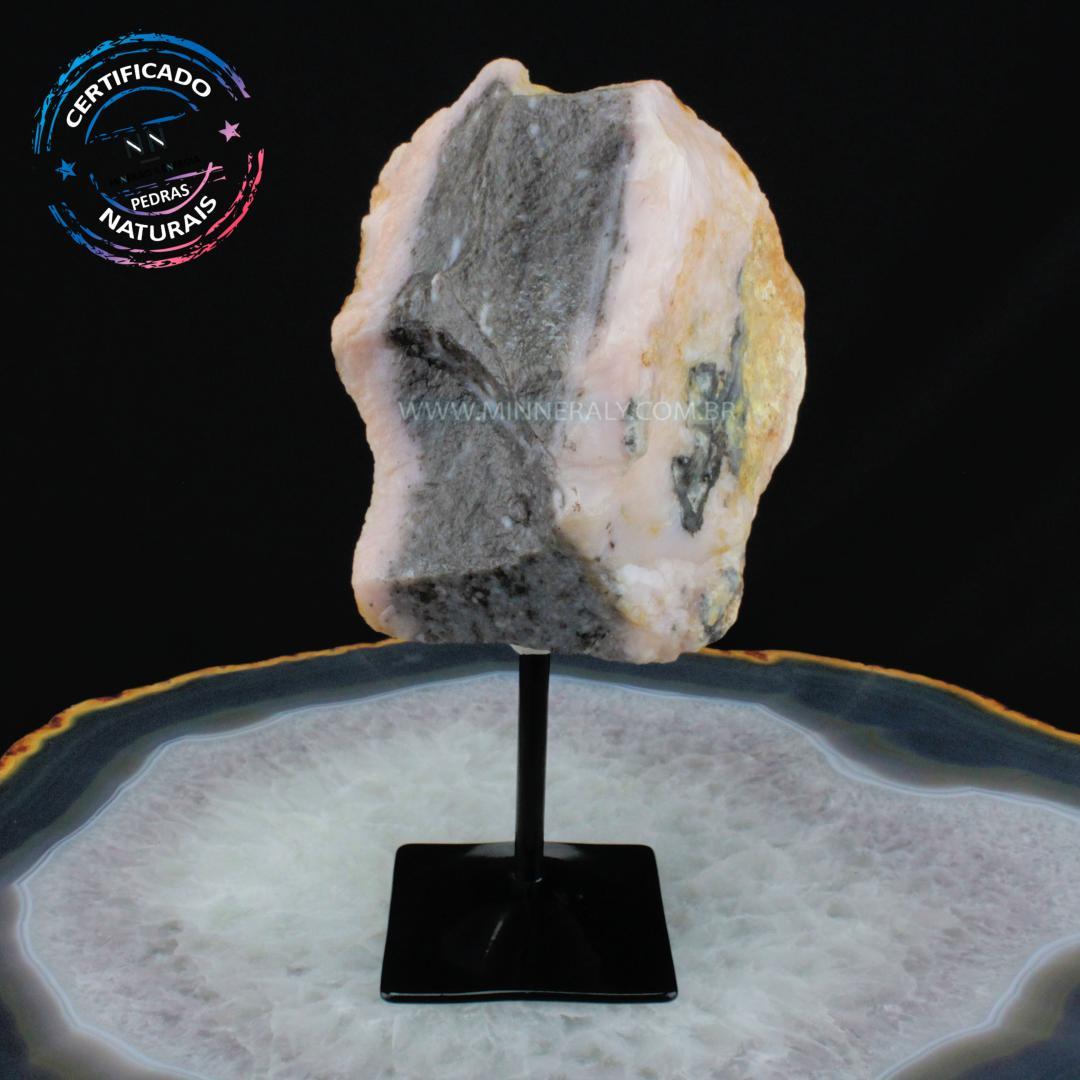 Opola Rosa IN Natura Metal.collection (1,778KG; ALT: 23,1CM; COMP: 13,3CM; LARG: 9,9CM)