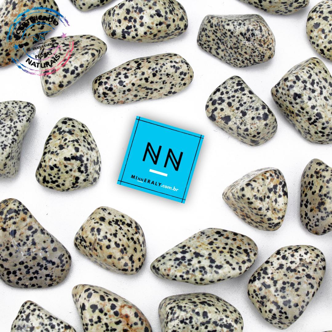 Pedra Dálmata In Natura Rolada/Peça