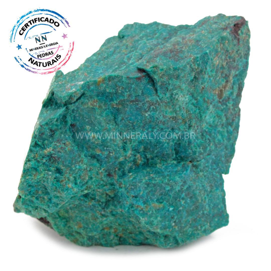 Pedra Eilat IN Natura em Bruto (0,158KG; ALT: 6,1CM; COMP: 6,0CM; LARG: 3,9CM)