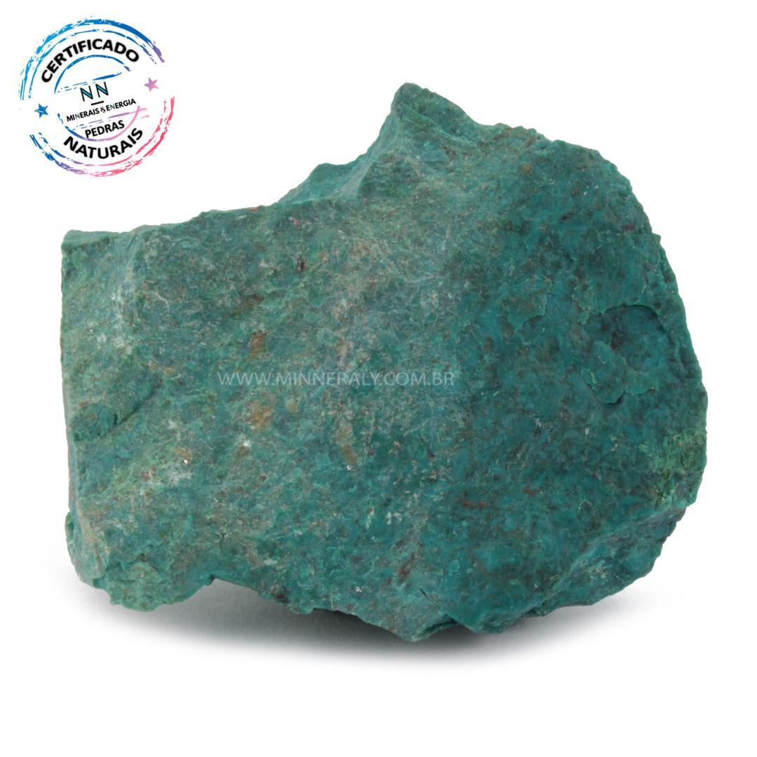 Pedra Eilat IN Natura em Bruto (0,236KG; ALT: 7,3CM; COMP: 8,6CM; LARG: 4,8CM)