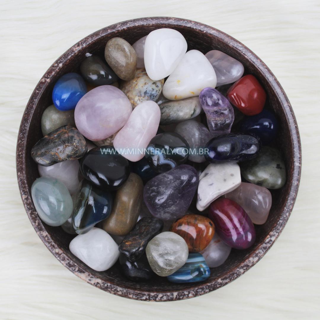 Pedra Mista Rolada/Quilo