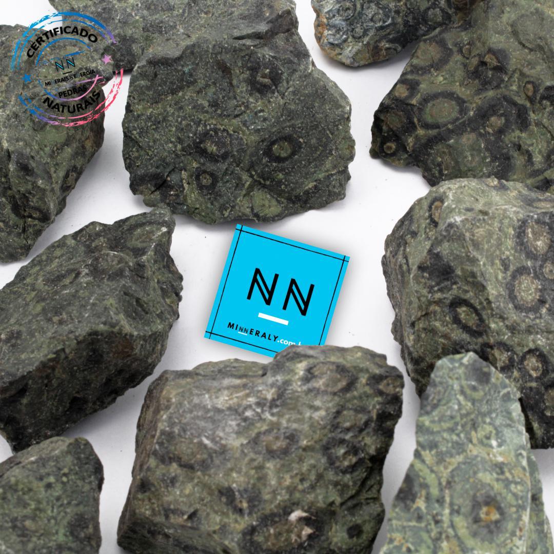 Pedra Nebula (jaspe Kambaba ou Crocodilo) IN Natura BRUTA/PEÇA