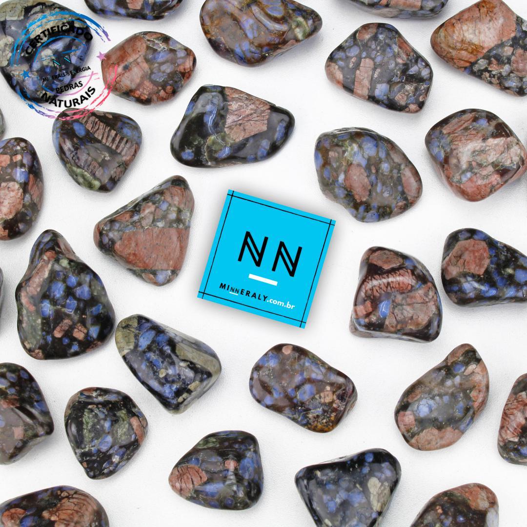 Pedra Que Sera (vulcanita) IN Natura ROLADA/PECA