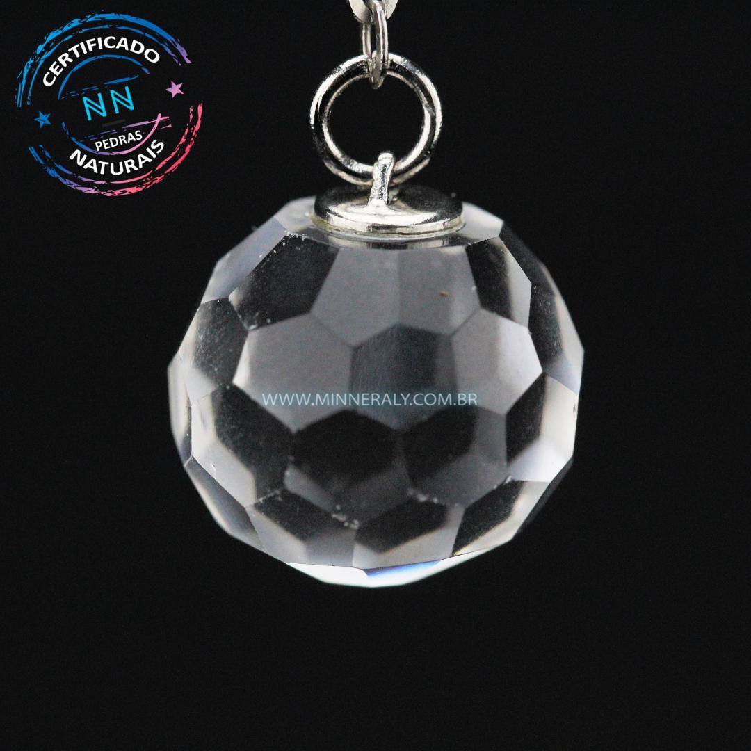 Pêndulos de Quartzo ou Cristal Multifacetado (Feng shui)