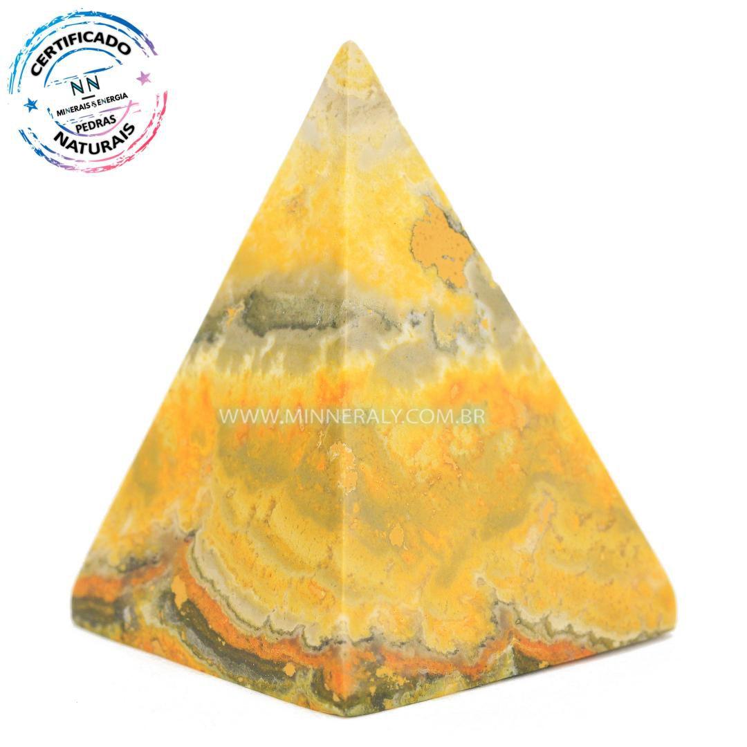 Pirâmide de Jaspe Abelha ou Bumblebee in Natura #NN128