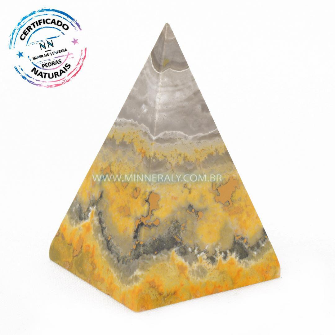 Pirâmide de Jaspe Abelha ou Bumblebee in Natura #NN129