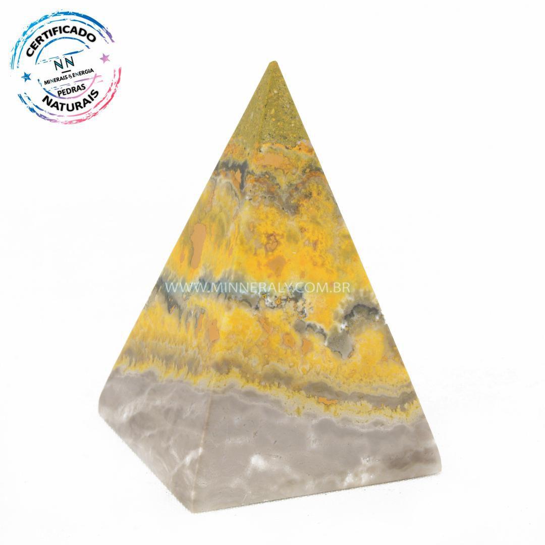 Pirâmide de Jaspe Abelha ou Bumblebee in Natura #NN130