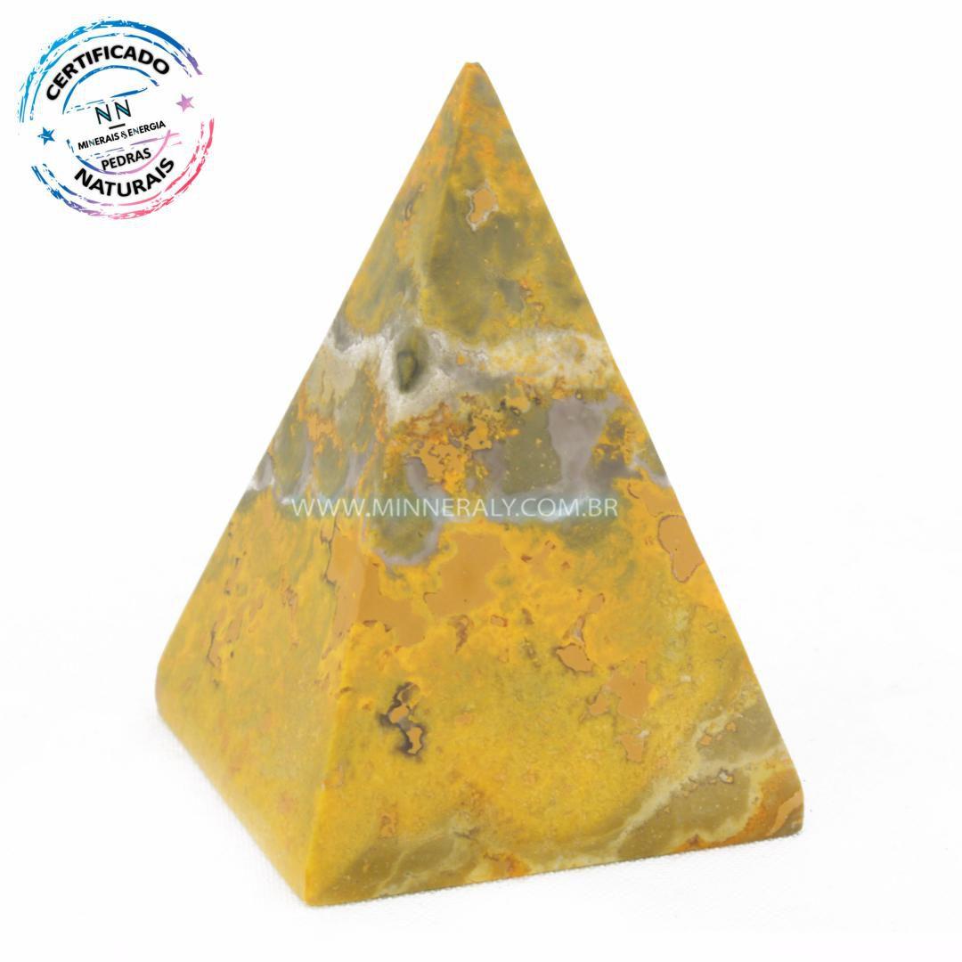 Pirâmide de Jaspe Abelha ou Bumblebee in Natura #NN131