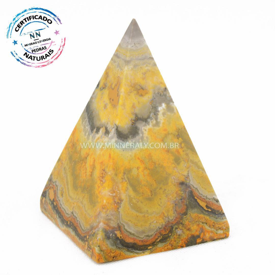 Pirâmide de Jaspe Abelha ou Bumblebee in Natura #NN133