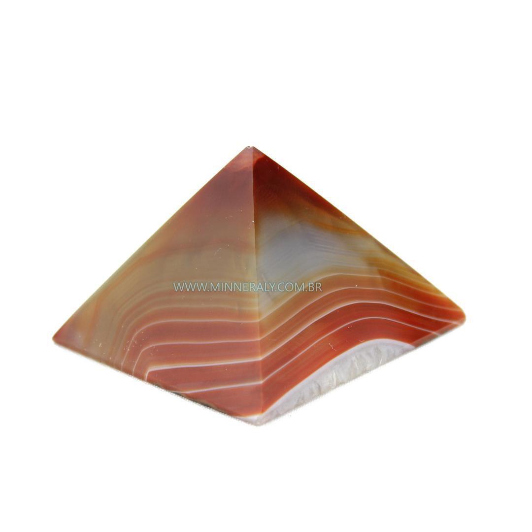 Pirâmide de Ágata Marrom in Natura #NN104