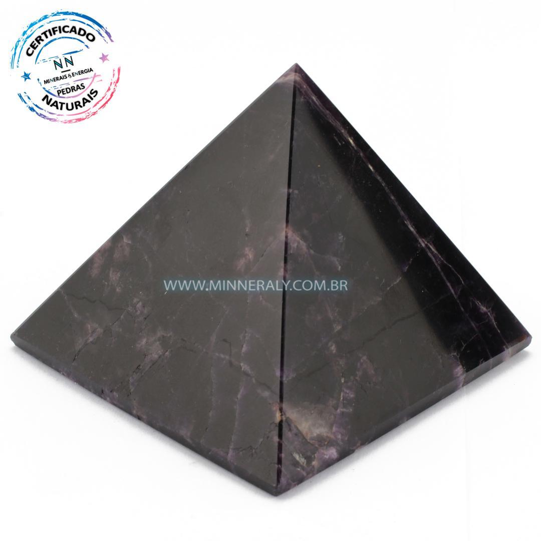 Pirâmide de Ametista Chevron in Natura #NN115