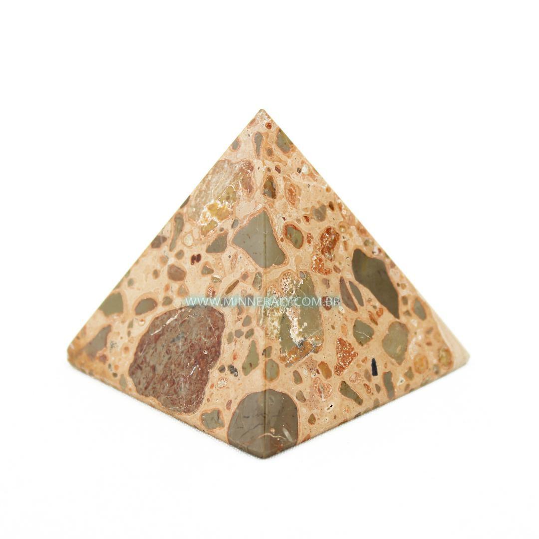 Pirâmide de Leopardita in Natura (0,210kg; 6,0cm) #NN143