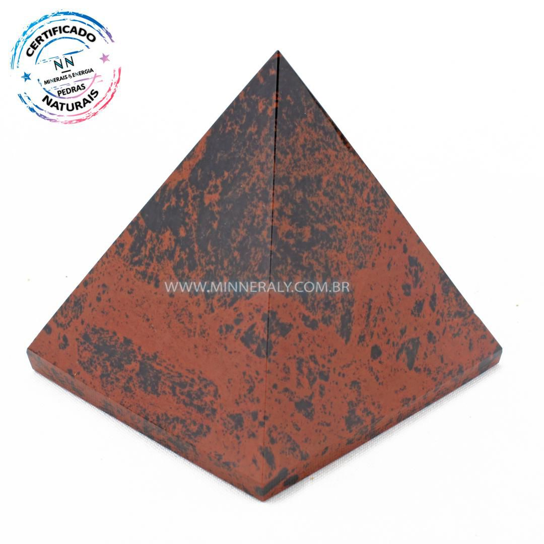 Pirâmide de Obsidiana Marrom in Natura #NN150