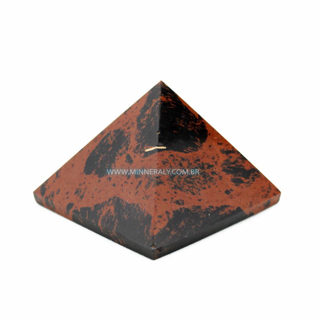 Pirâmide de Obsidiana Marrom in Natura #NN152