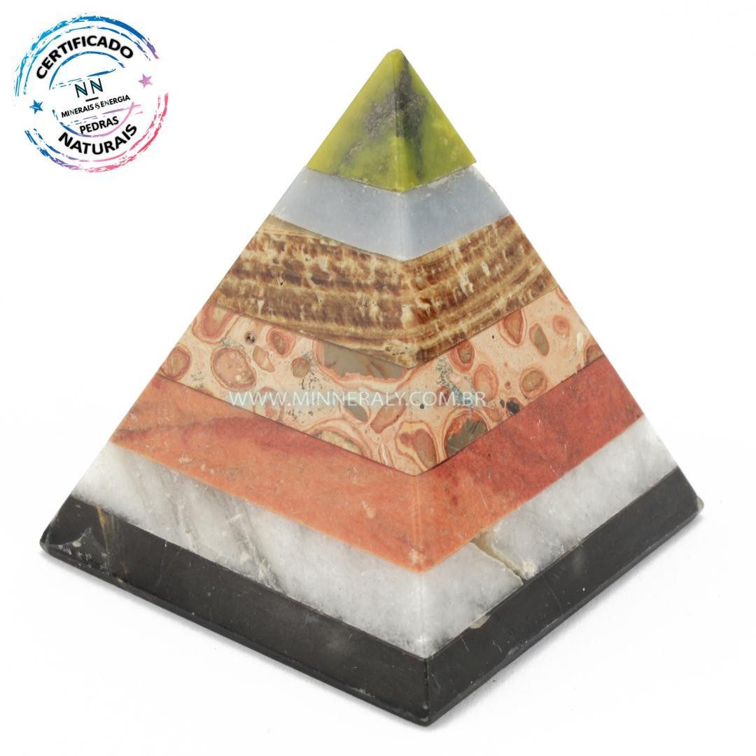 Pirâmide de Pedras  Mistas in Natura #NN159