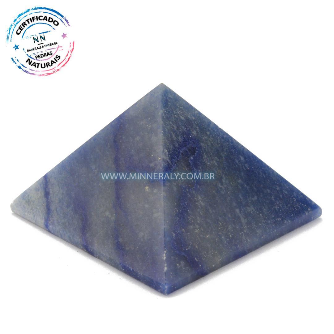 Pirâmide de Quartzo Azul in Natura #NN163