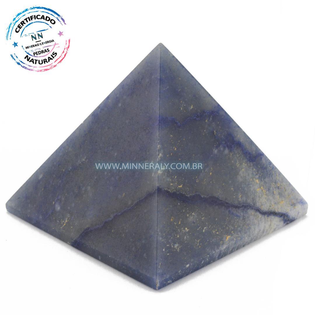 Pirâmide de Quartzo Azul in Natura #NN164