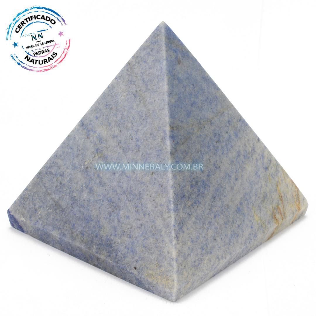 Pirâmide de Quartzo Azul in Natura #NN166