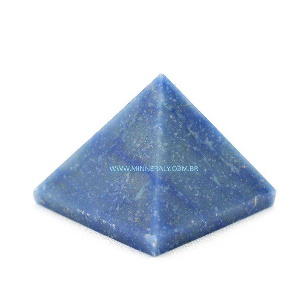 Pirâmide de Quartzo Azul in Natura #NN165