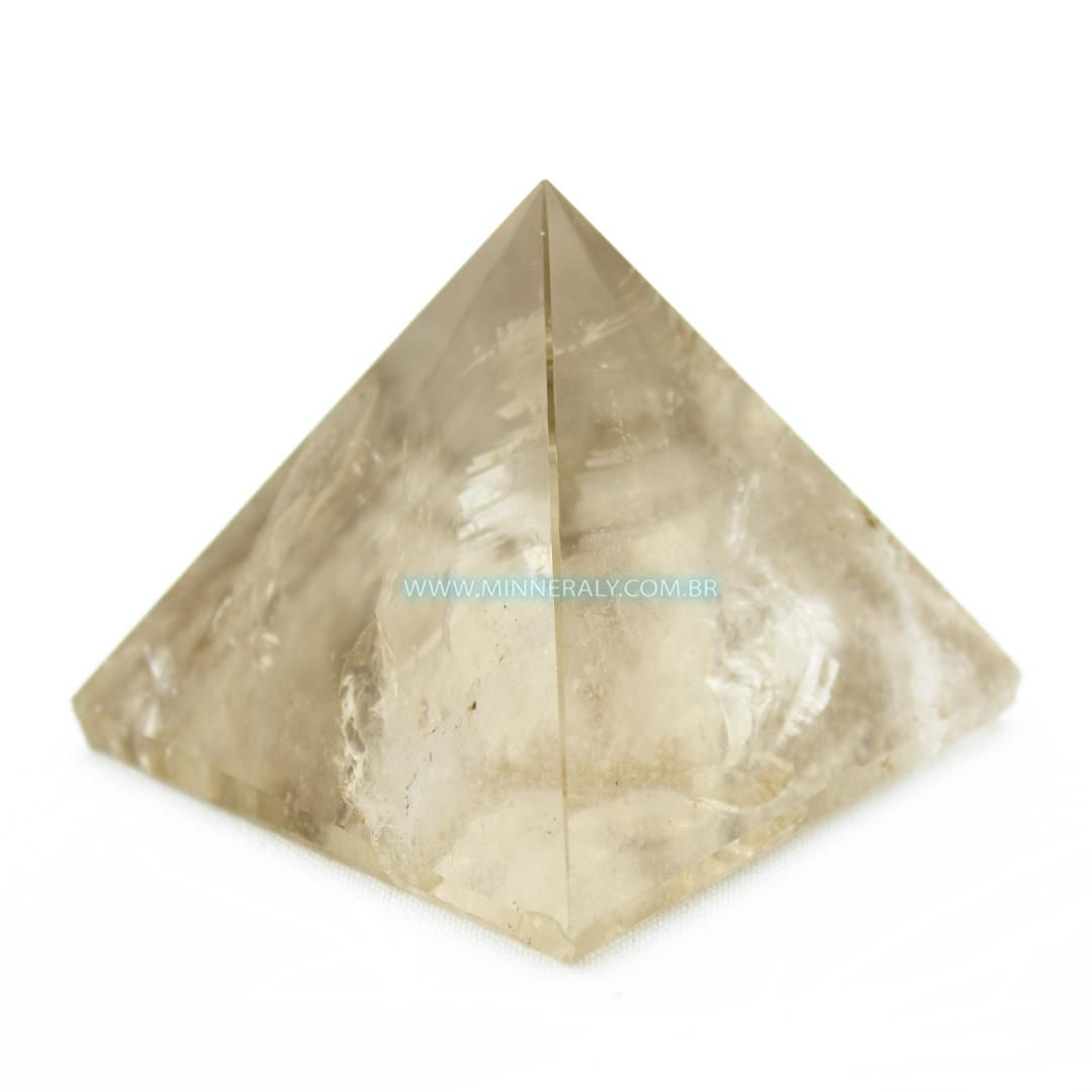 Pirâmide de Quartzo Fumê in Natura #NN167