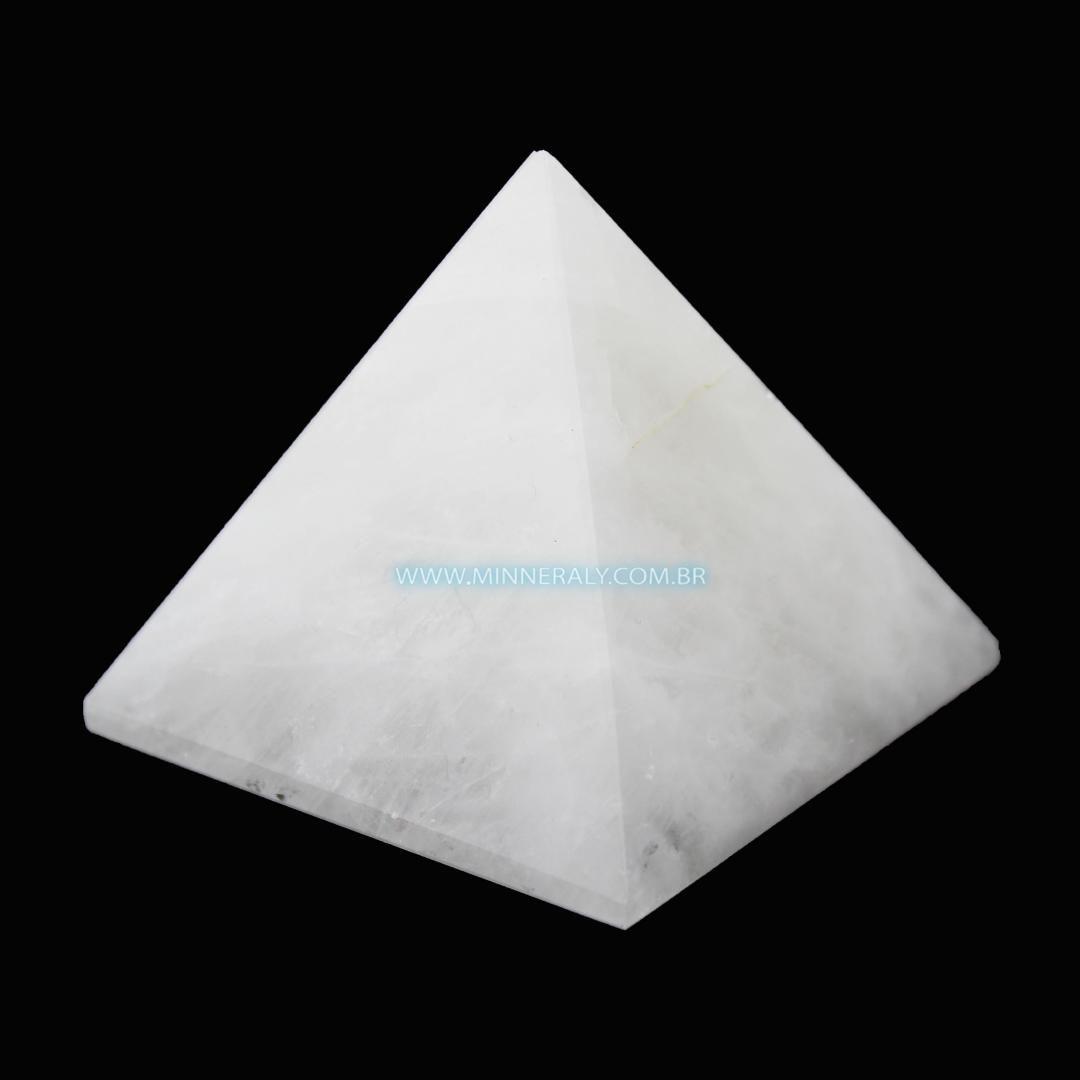 Pirâmide de Quartzo Leitoso in Natura #NN168