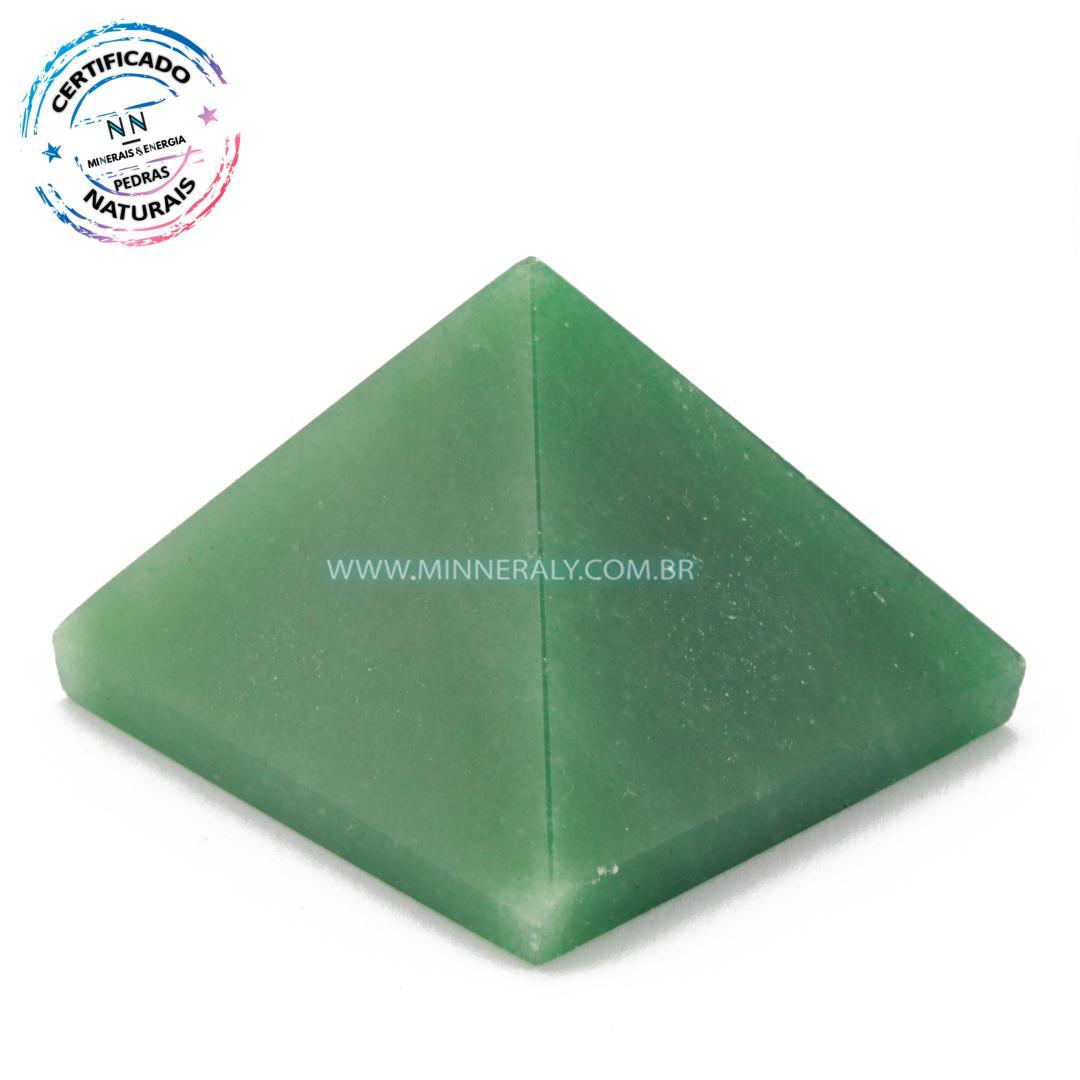Pirâmide de Quartzo Verde in Natura #NN169