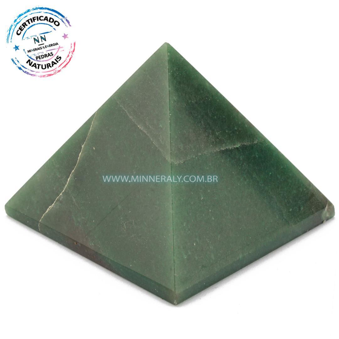 Pirâmide de Quartzo Verde in Natura #NN170