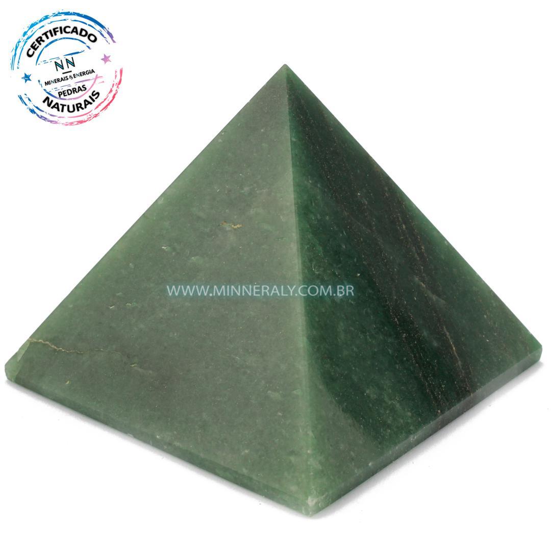 Pirâmide de Quartzo Verde in Natura (0,456kg; 7,2cm) #NN171