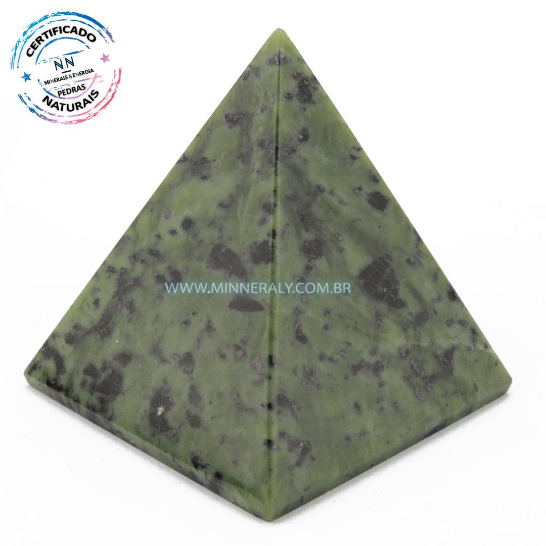 Pirâmide de Serpentina in Natura (0,148kg; 5,7cm) #NN174