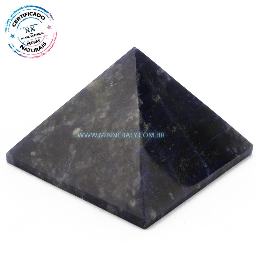 Pirâmide de Sodalita in Natura (0,166kg; 4,5cm) #NN175