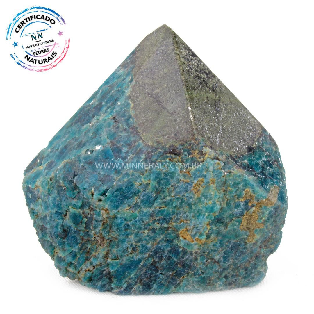 Ponta Geradora de Apatita Azul in Natura (0,544kg; 8,4cm) #NN122