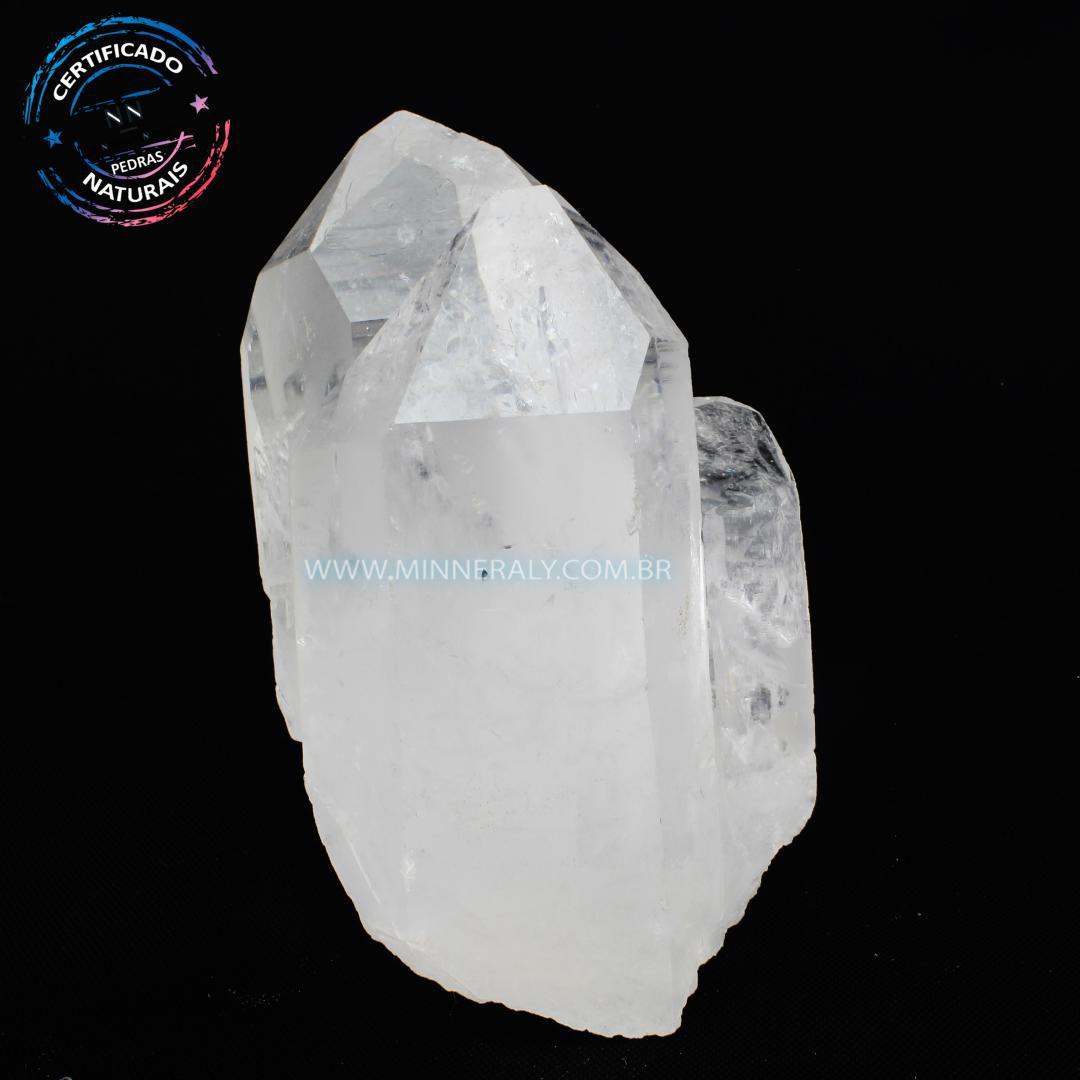 Ponta de Cristal in Natura em Bruto #NN461
