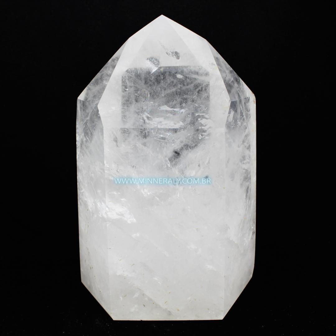 Ponta de Quartzo ou Cristal Branco in Natura (8,905kg; 26cm) #NN130